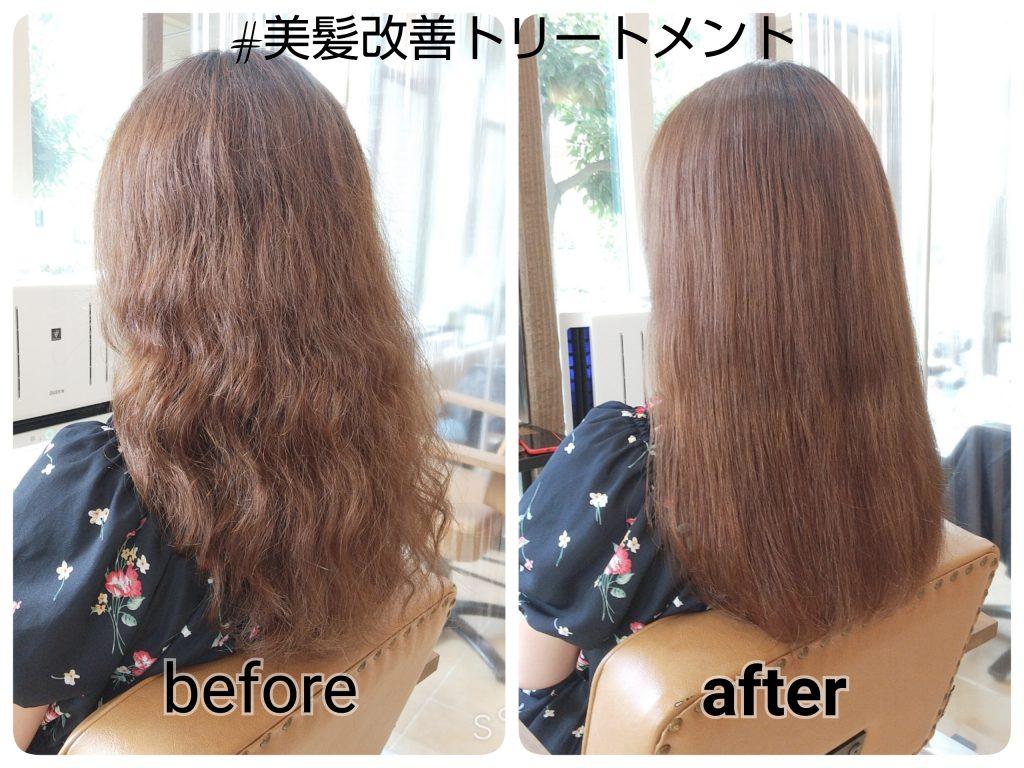 美髪改善トリートメント